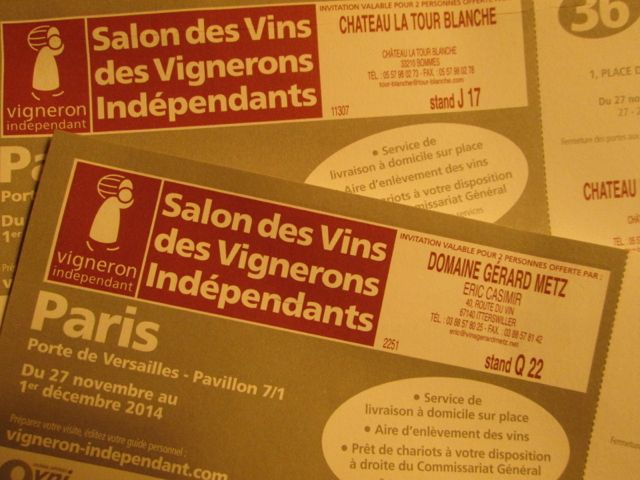 Salon de vins paris small capital for Salon des vins paris