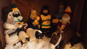 Ol' Mum's nativity effort. Beat that France!